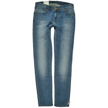 LEE spodnie JEANS blue low JADE SEASONAL