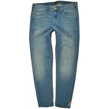 LEE spodnie BOYFRIEND blue jeans PIXLEY