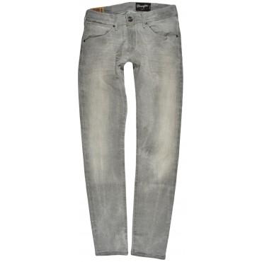 WRANGLER spodnie GREY low skinny BRYSON