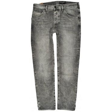 WRANGLER spodnie GREY jeans slim BOYTON
