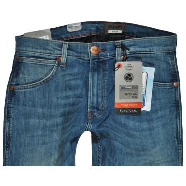 WRANGLER spodnie MODERN slim blue BOSTIN